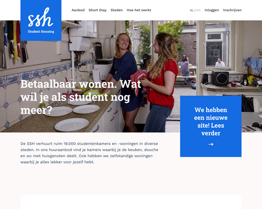 SSH Student Housing Logo